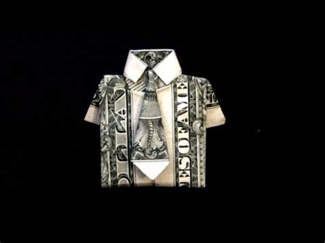 Dollar Origami Shirt And Tie - related