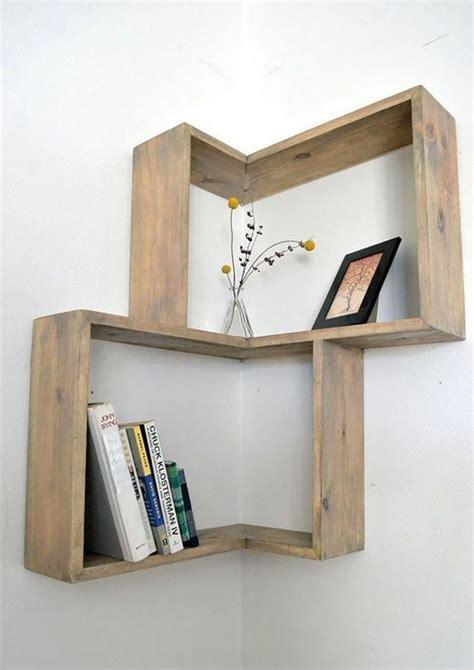 mensole legno mensole fai da te in legno 20 semplici idee originali e