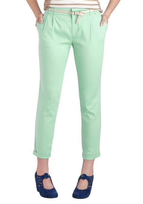 swing dance pants new slack swing pants in mint for women aewom