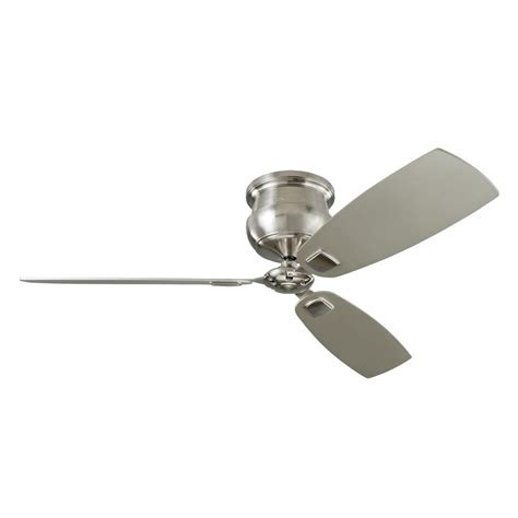 monte carlo ceiling fan monte carlo cannondale 56 in indoor brushed steel ceiling