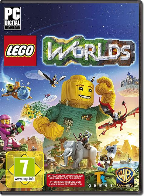Pc Lego Worlds lego worlds code in a box pc world of