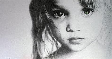 dibujos realistas rostros im 225 genes arte pinturas dibujos rostros bebes y ni 241 os a