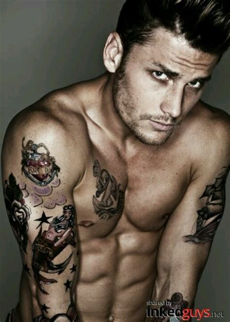 tattoo guy pictures hot tattoo guy hot pinterest