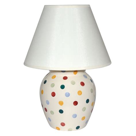 polka dot l shade brown and white polka dot l shade shade with up