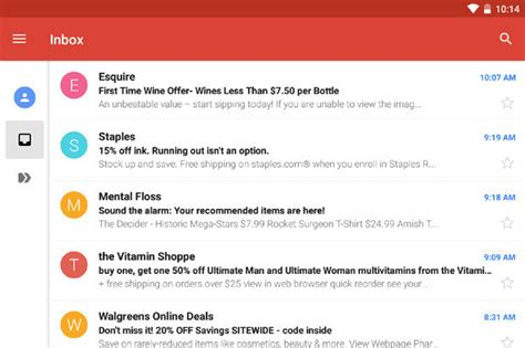 gmail android on this is the brand new gmail app for android computerworld