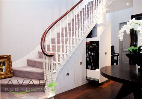 Underneath Stairs Design ƹӝʒ Stairs Storage Ideas Gallery 3 Uk Avar Furniture