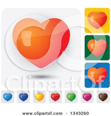 heart layout app royalty free rf clipart of web site icons illustrations