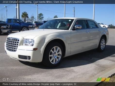 2010 Chrysler 300 Touring by Cool Vanilla White 2010 Chrysler 300 Touring