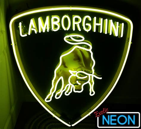 Lamborghini Neon Sign Neon Signs