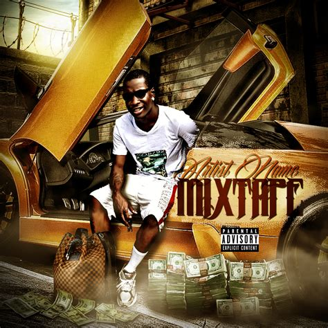 mixtape design templates 10 official psds mixtape covers images yo gotti white