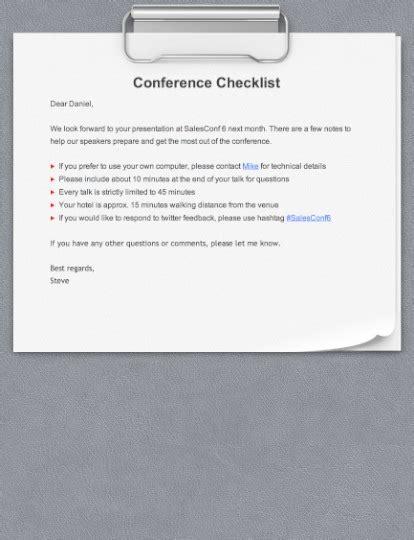 Muster Informelle Einladung team business communication