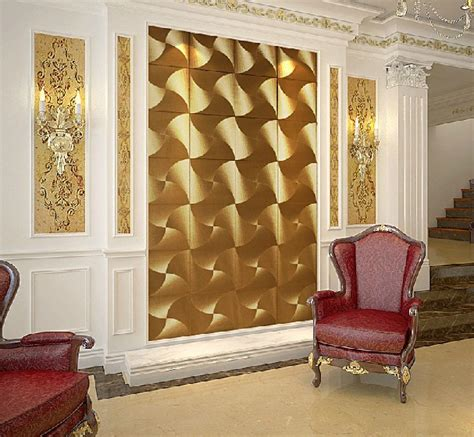 Gold Wallpaper For Living Room by Modern Luxury Gold 3d Wallpaper Pvc Waterproof Fashion
