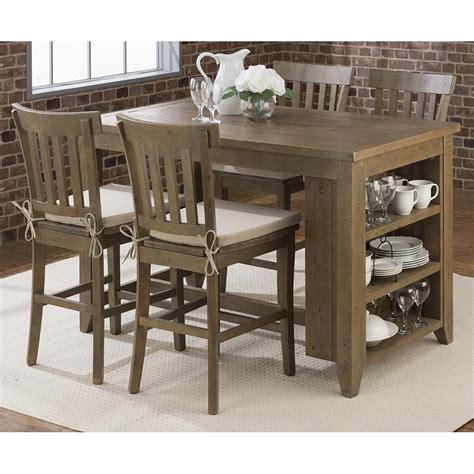 8124h bar height bench leathercraft jofran 941 60 2x941 bs831kd slater mill pine counter