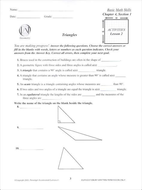 Basic Math Skills Worksheets by Basic Math Skills Chapter 4 Activities 059882 Details