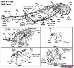 Fuel System Ford Ranger 94 Ford Ranger Fuel Line Diagram 94 Get Free Image About