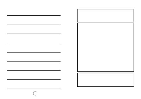blank template children to create their own book by