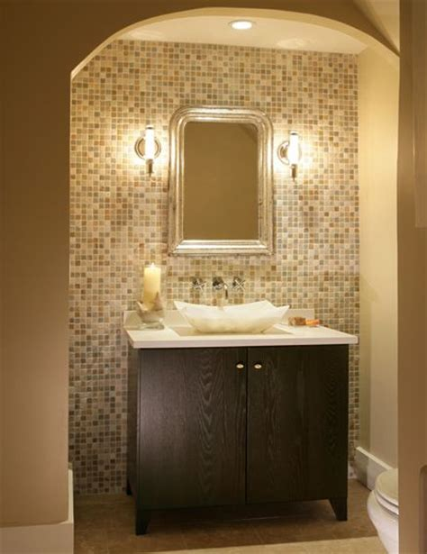 mosaic wall bathroom mosaic tile accent wall in bathroom home sweet home