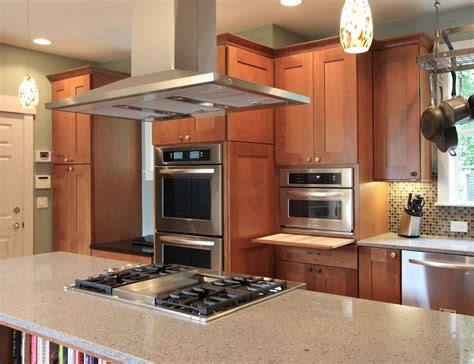 kitchen island with range the most popular island oven arrangements for the kitchen