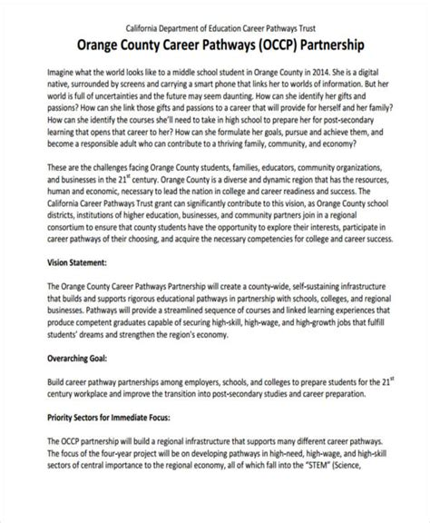 7 vision statement exles sles