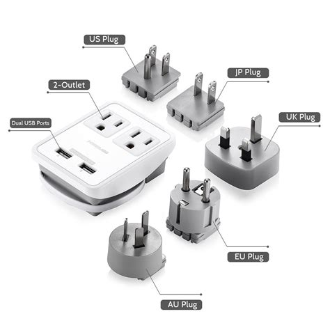 G U Travel Adapter Usb adapter uc davis department of animal science