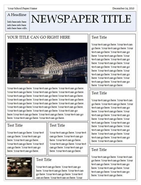 newspaper templates for word microsoft word newspaper templates for students