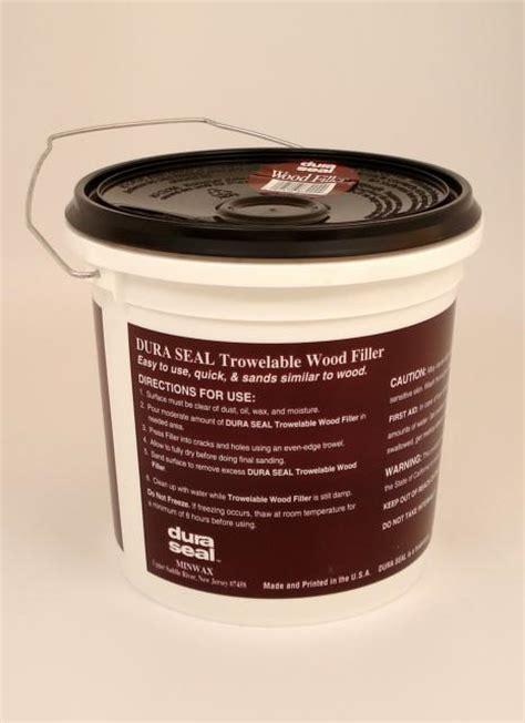 dura seal red oak trowelable wood filler gallon chicago hardwood flooring