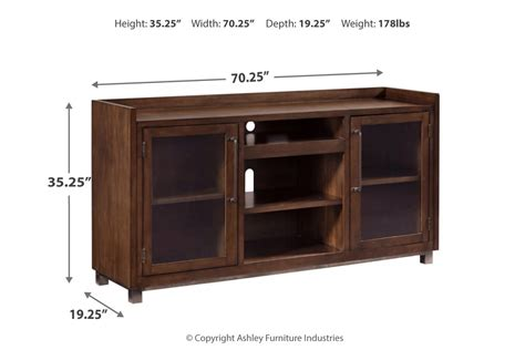 starmore brown xl tv stand wfireplace option