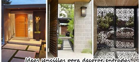 ideas decorar entrada de casa ideas sencillas para decorar la entrada de tu casa