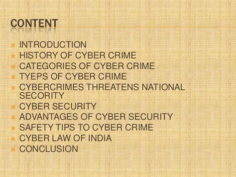 Cyber Crime Essay Introduction by Cybercrime Ppt