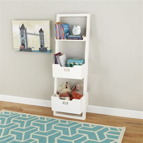 land of nod bookcase kids desk kids white leaning wall bookcase the land of nod