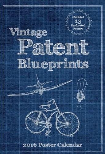 Calendar 2018 Vintage Vintage Patent Blueprints Calendars 2018 On Europosters