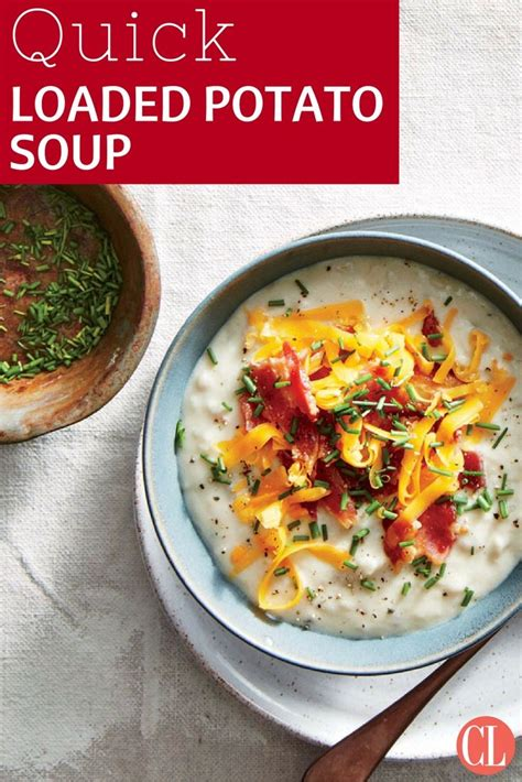 cooking light baked potato soup 1122 best quick and easy dinners images on pinterest