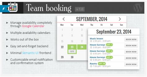meeting room booking plugin top 6 booking plugins for themes