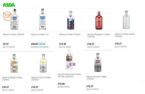 Wedding Anniversary Cards Asda by Absolut Vodka Gift Set Asda Gift Ftempo
