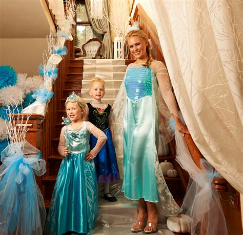 party themed costumes princesses on ice a frozen halloween party halloween
