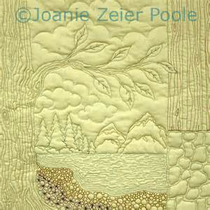 Landscape Quilt Patterns by Joanie Zeier Poole Machine Quilting Classes And Hands On
