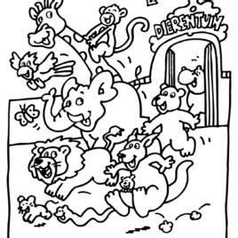 simple zoo coloring page coloring pages zoo animals preschool archives mente beta