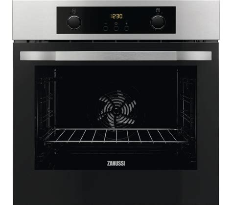 Oven Zanussi buy zanussi zop37902ba electric oven stainless steel
