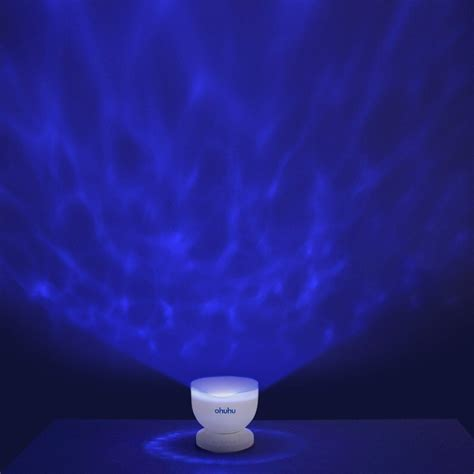 night light projector with music relaxing with the ohuhu ocean wave night light projector