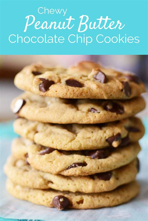 chewy chocolate white chocolate chip cookies a brand new blogging chewy peanut butter chocolate chip cookies recipe dishmaps