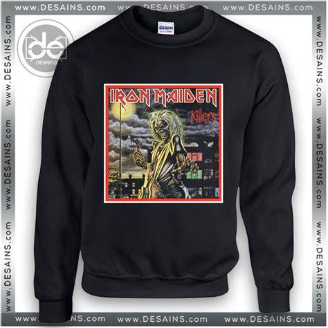 Sweater Iron Maiden Sweatshirt Iron Maiden Killers Cover Sweater Womens And