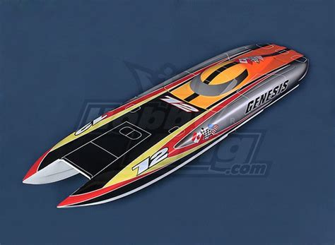 boat hull hobbyking genesis offshore twin hull 1045mm fiberglass hull only