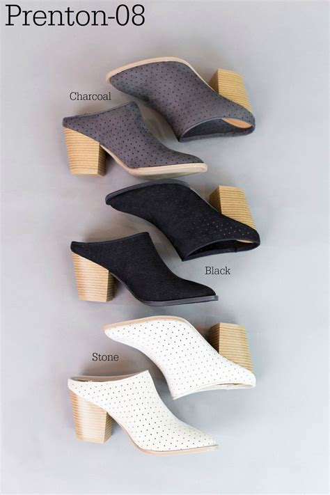 New Arrival Fashion Slip On 1698 groopdealz trending mule booties 3 styles