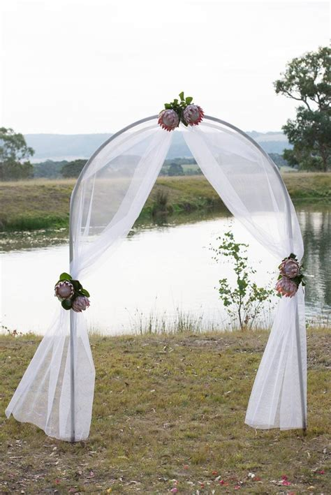 Wedding Arch Material by Best 20 Wedding Arch Tulle Ideas On Simple