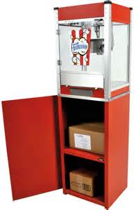 who invented the popcorn machine 301 moved permanently