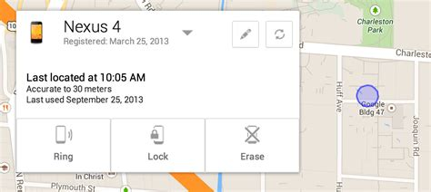 android device management official android find your lost phone with android device manager