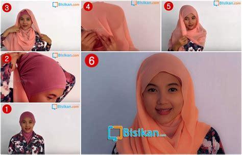 tutorial rambut sehari hari tutorial hijab pashmina yang simple dan praktis untuk