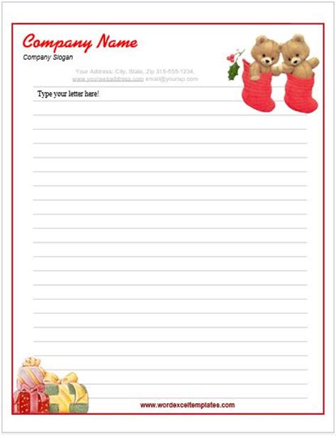 event letterhead templates for ms word word excel