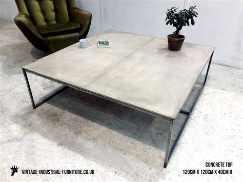 Cement Coffee Table Concrete Coffee Table