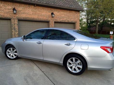automobile air conditioning repair 2007 lexus sc engine control single owner 2007 lexus es350 sedan 4 door 3 5l silver black interior